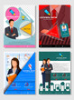 Business Template Infographic for Financil Report Book Cover Presentation and Brochure Flyer Leaflet Marketing Advertising