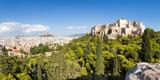 Athen Stadtansicht mit Akropolis und Lykabettus Hügel