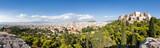Athen Panorama mit Blick auf Akropolis und Lykabettus Hügel