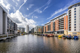 Leeds Dock formerly Clarnce Dock in central Leeds - 158583922