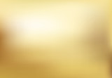 Fototapety Vector gold blurred gradient style background. Abstract smooth illustration