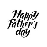 Fathers day lettering