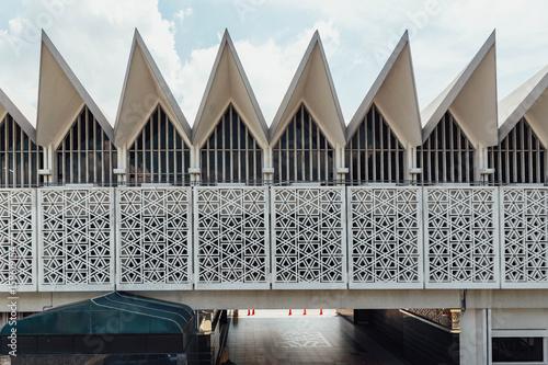 Foto op Canvas Milan National Mosque - Masjid Negara Mosque in Kuala Lumpur, Malaysia.