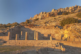 Ruins of agora in Assos, Canakale, Turkey - 158620356