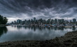 Vancouver Skyline Cloudy
