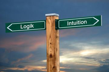 Schild 237 - Intuition