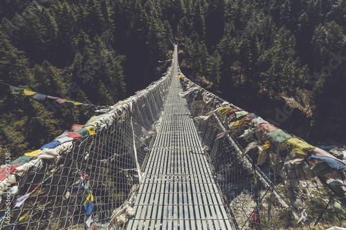 Puentes colgantes плакат
