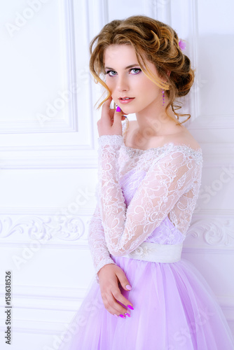 wedding make-up and hairstyle