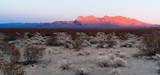 Providence Mountains Fountain Peak Mojave Panoramic Desert Landscape