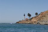 Point Loma lighthouse in San Diego California