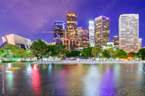 Los Angeles, California, USA downtown skyline. © SeanPavonePhoto