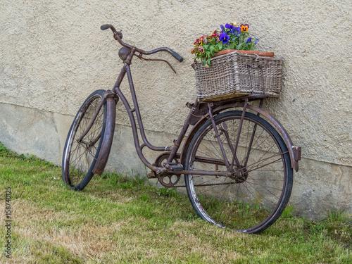 Foto op Aluminium Fiets Retro Fahrrad