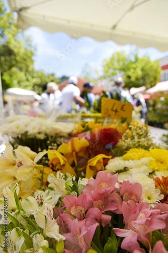 Marche aux Fleurs in Nice, France