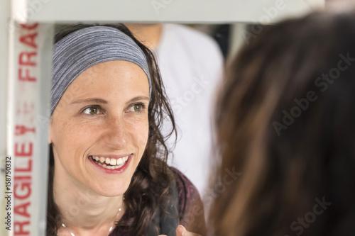 Plexiglas Marokko femme