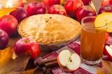 Hot apple cider. - 158751917