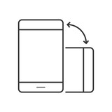 Phone rotate line icon - 158773320