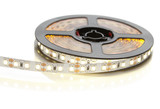 Reel of a diode strip with warm light on a white background - 158791508