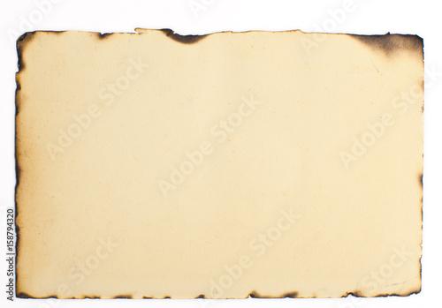 Fotobehang Abstractie old burnt paper texture