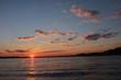 Jersey Shore Beach  Sunset