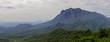 Quadro Mountain in the atlantic forest jungle Brazil