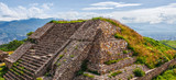 Ruins of the ancient city of the ancient Mesoamerican Zapotec civilization of Monte Alban - Oaxaca, Mexico - 158800708