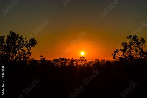 Plagát Orthodox sunset