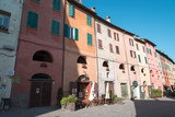 Brisighella, one of the most beautiful villages in italy. Donkeys' Road
