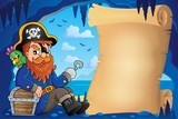 Parchment in pirate cave image 6