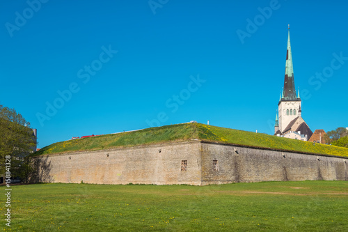 Medieval bastion. Tallinn, Estonia Poster