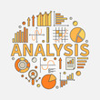 Business analysis illustration