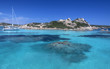 Quadro Maddalena Islands - Sardinia - Italy
