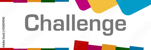 Challenge Colorful Background