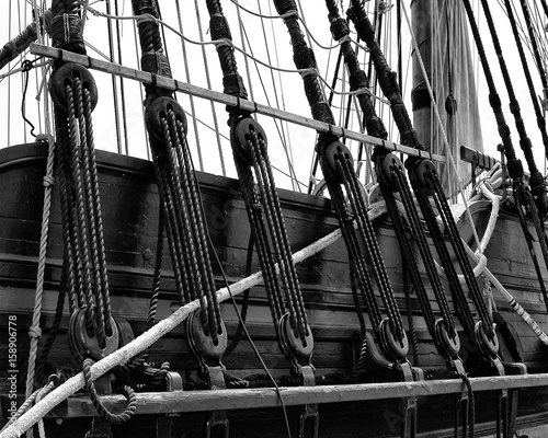 Ships Deck and Rigging