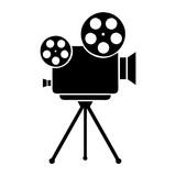 cámara de cine - 158912382