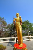 The park of Gold Buddha in Pattaya