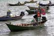 Fishing boat, fishing boat, coast.