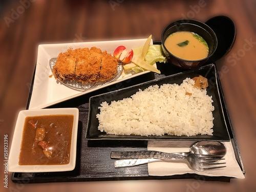 Tonkatsu Curry Rice - 158923396