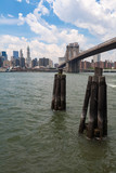 Brooklyn Bridge and Manhattan - V