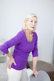 Senior woman with hip pain - 158928906