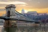 Будапешт Королевский дворец. Цепной мост.