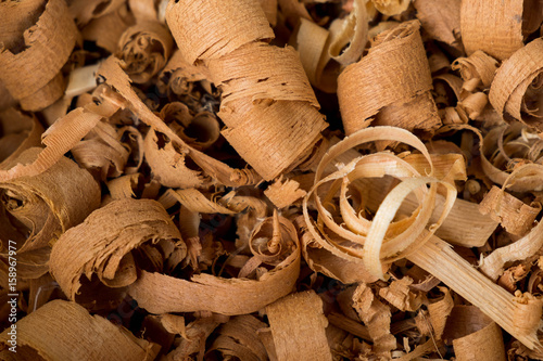 Sawdust and wood background - 158967977