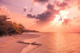 Perfect tropical beach landscape