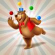 juggler bear