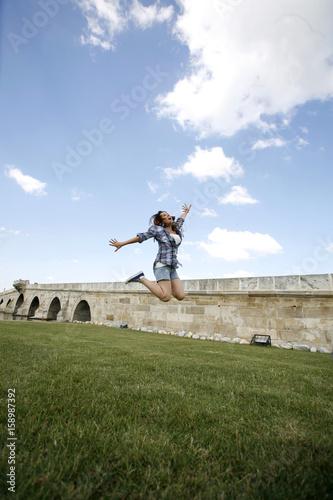 Póster Jump Girl