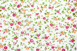 floral fabric pattern background - 158990142
