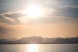 Gardasse im Sonnenuntergang