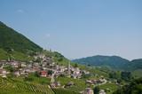 Panorama of beautiful landscapes of valdobbiadene - 159006598