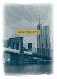 photoprint new york brooklyn bridge tee shirt graphic typography