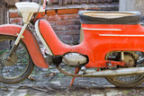 Old motorcycle, 1970s, production Czech republic, Europe, type Java 21