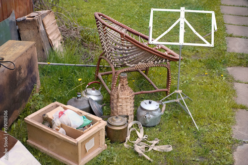 Backyard Items unwanted items in backyard | buy photos | ap images | detailview